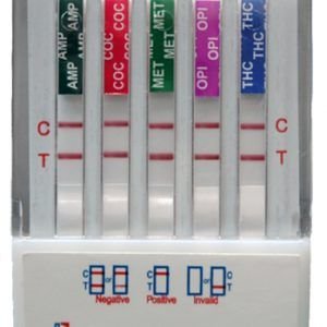 Dip test that is simple to read and quick with results. The test is simple to use and gives quality results in a speedy time frame! Great for use in the home and at the workplace! Test are sold in cases of 25 units!